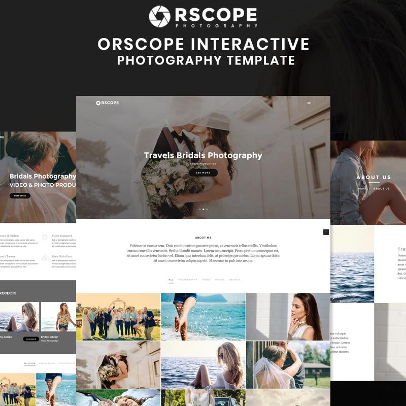 Orscope Website Template
