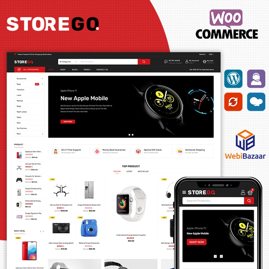 StoreGo Website Template