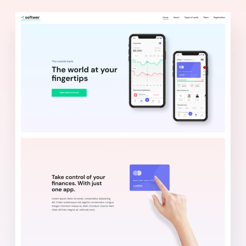 Softwer Website Template