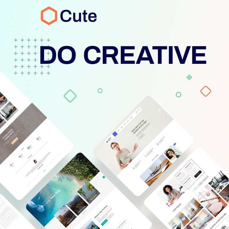 Cute Website Template