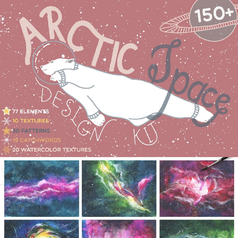 Arctic Space Website Template
