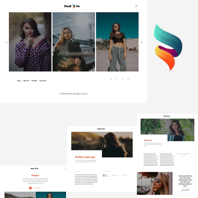 Portfolio Website Template
