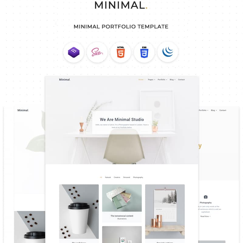Minimal Website Template