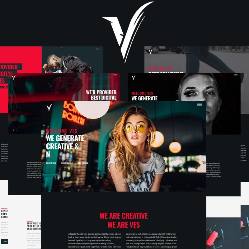 VES Website Template