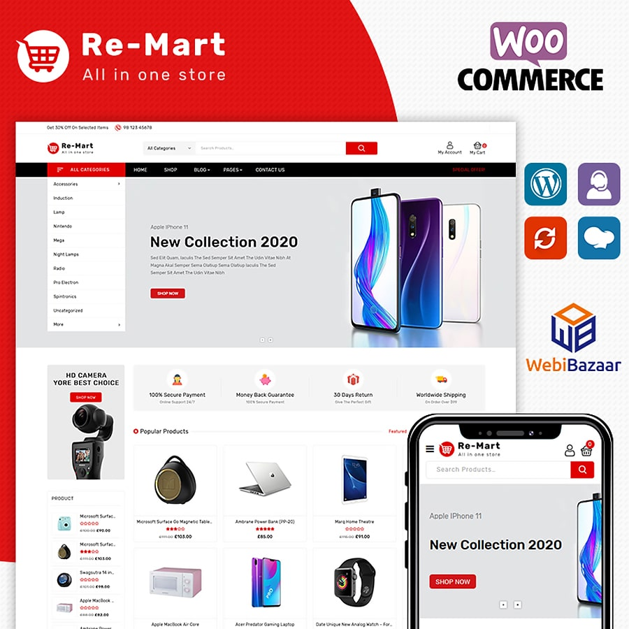 Remart Website Template