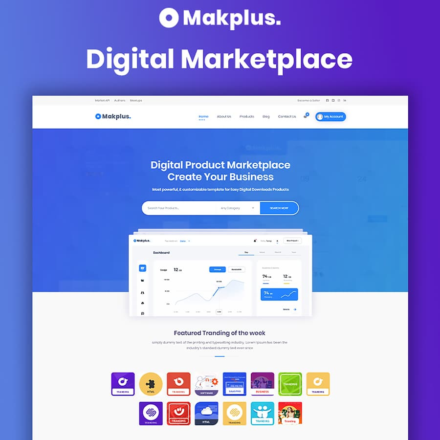 Makplus Website Template
