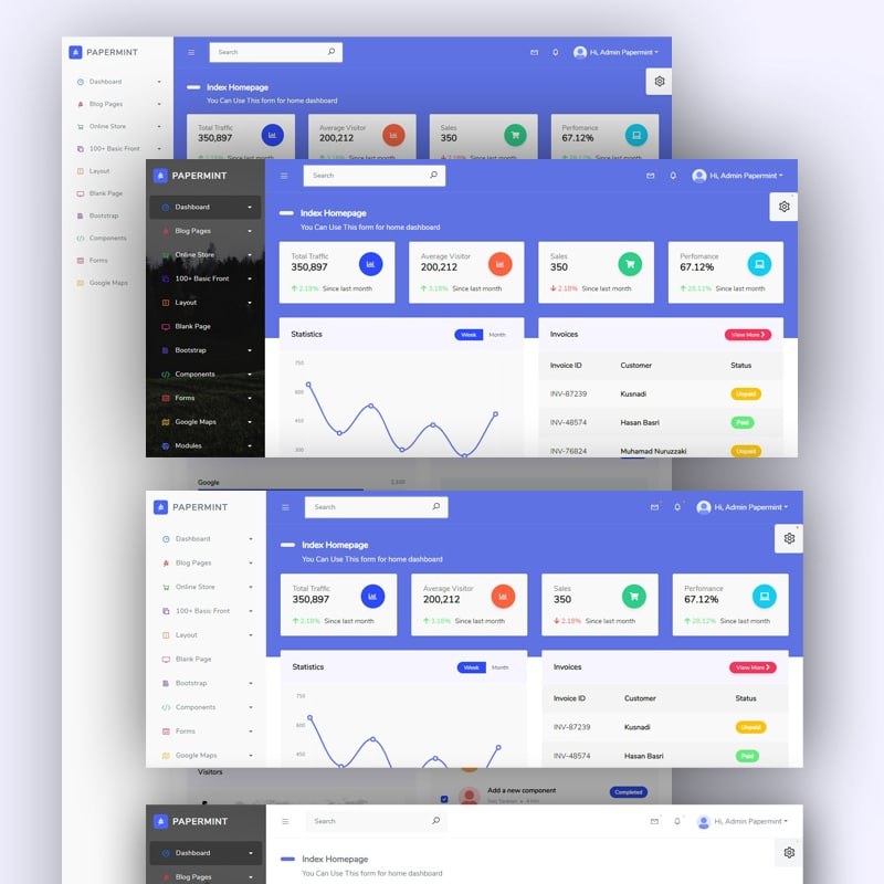 Top Admin Interface Templates You Cannot Miss