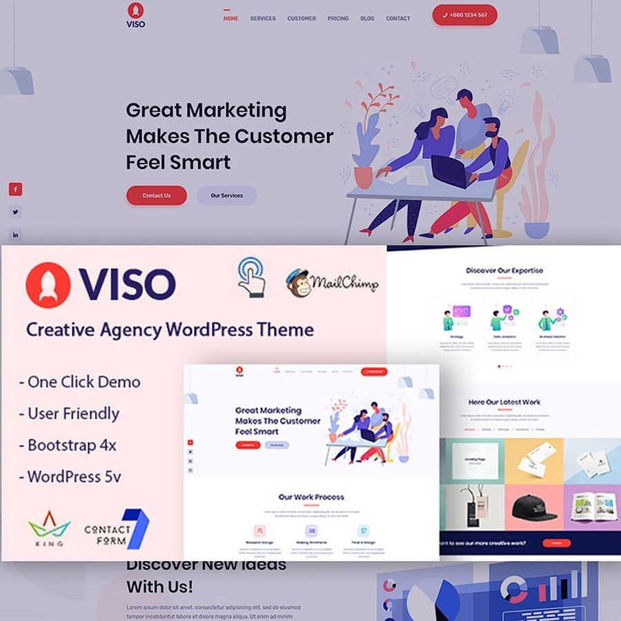 VISO Website Template