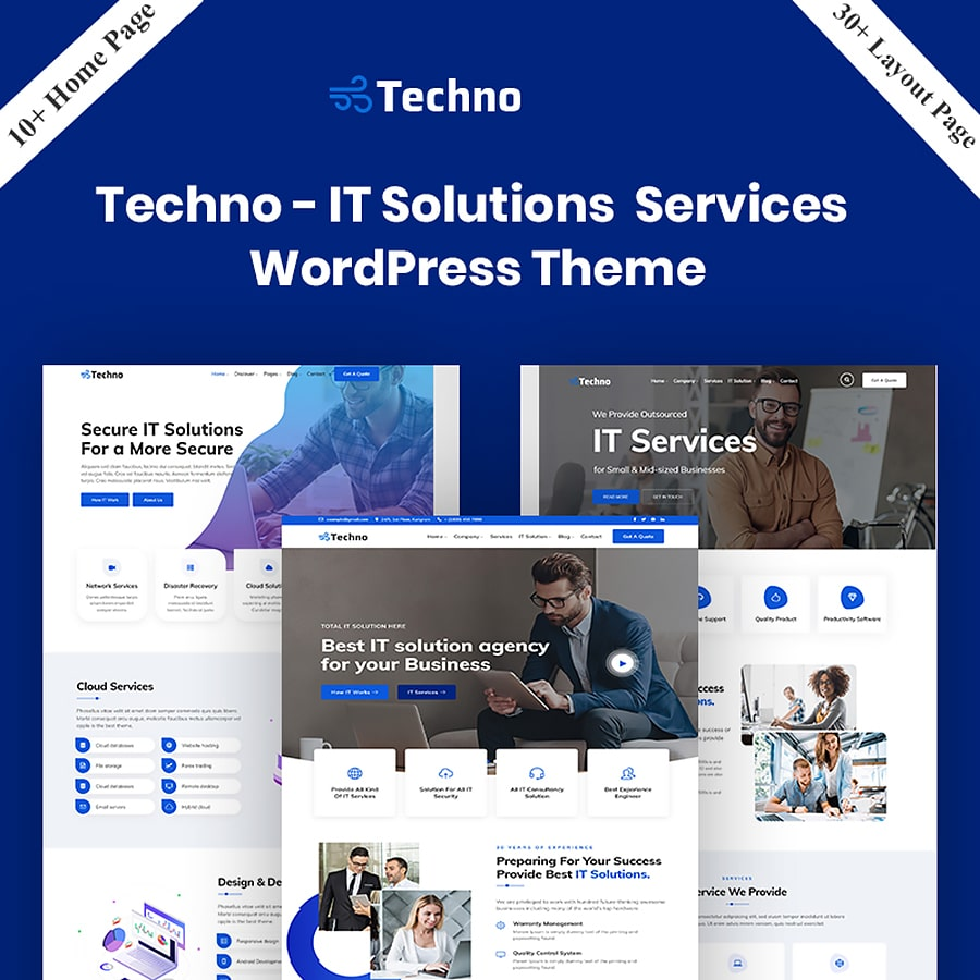 Techno Website Template