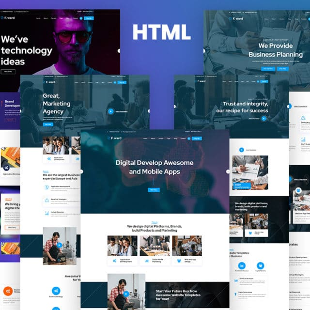 Free Responsive Website Templates & Premium Corporate Ones for Launching a Prosperous Business