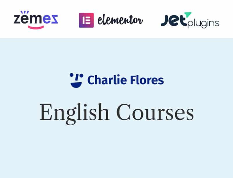 Charlie Flores Website Template