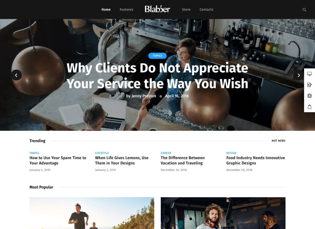 Blabber | All-in-One Elementor Blog & News Magazine WordPress Theme + RTL Website Template