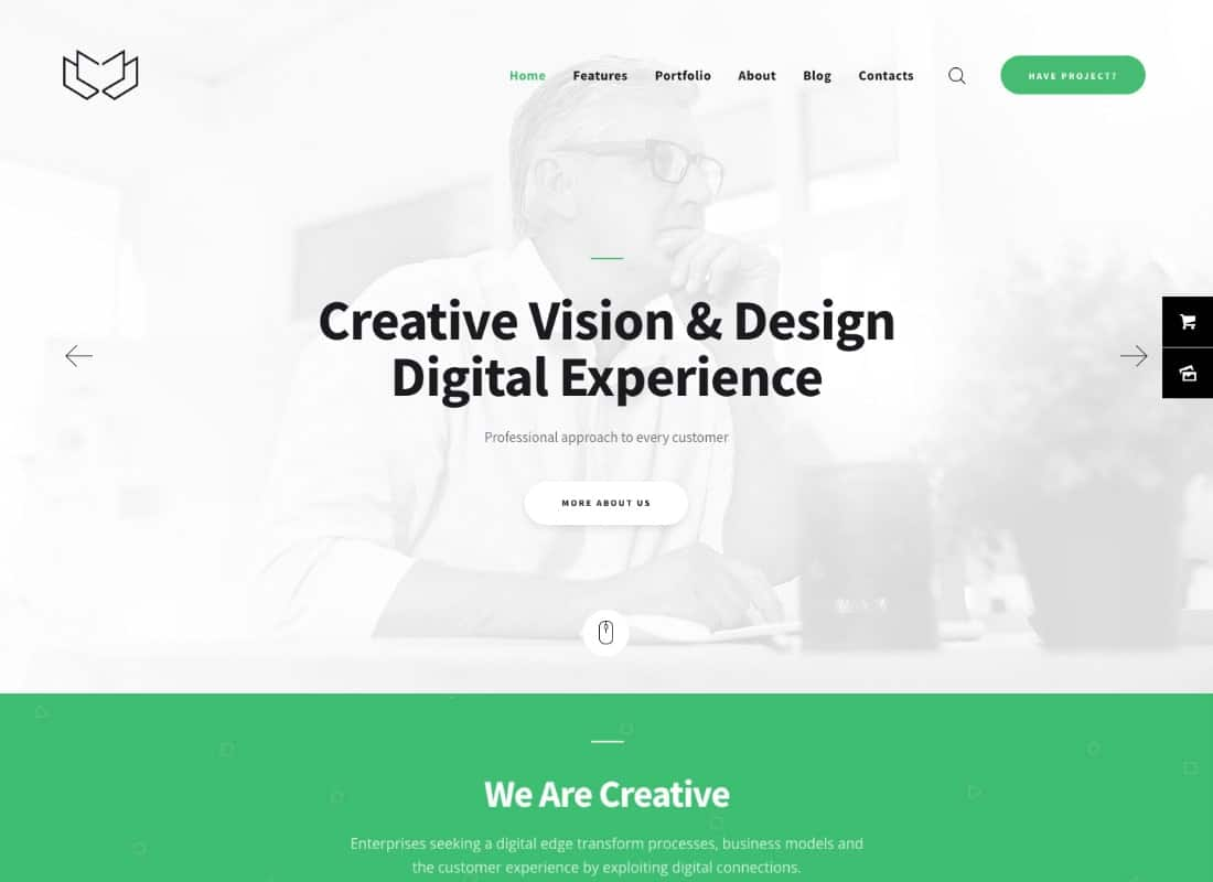 Deviox | A Trendy Multi-Purpose Business WordPress Theme Website Template