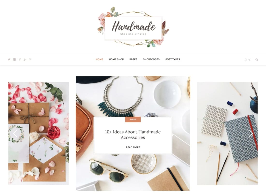 Handmade | Shop WordPress WooCommerce Theme Website Template