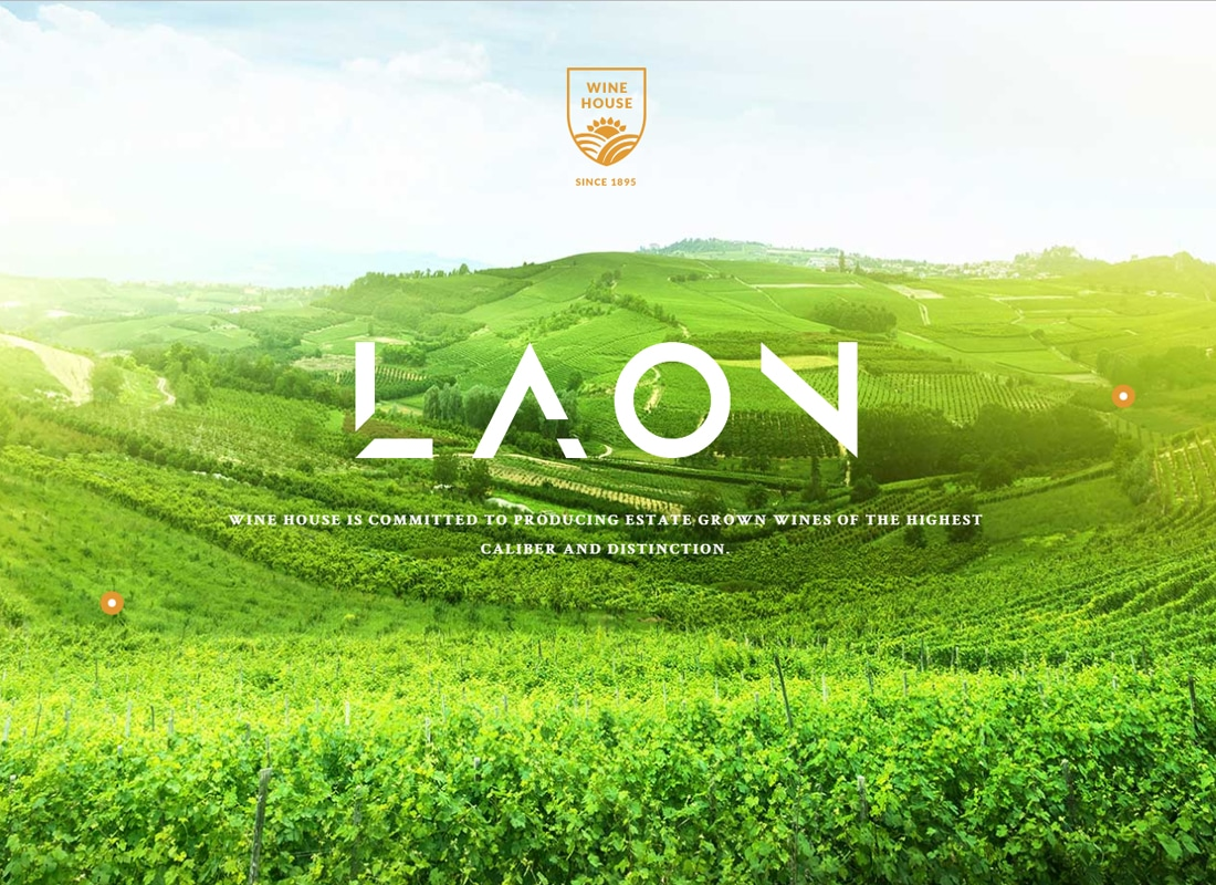 Laon - Wine House, Winery & Wine Shop WordPress Theme   Website Template