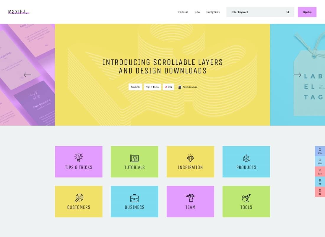 Maxify | Startup & Business News WordPress Blog Theme Website Template