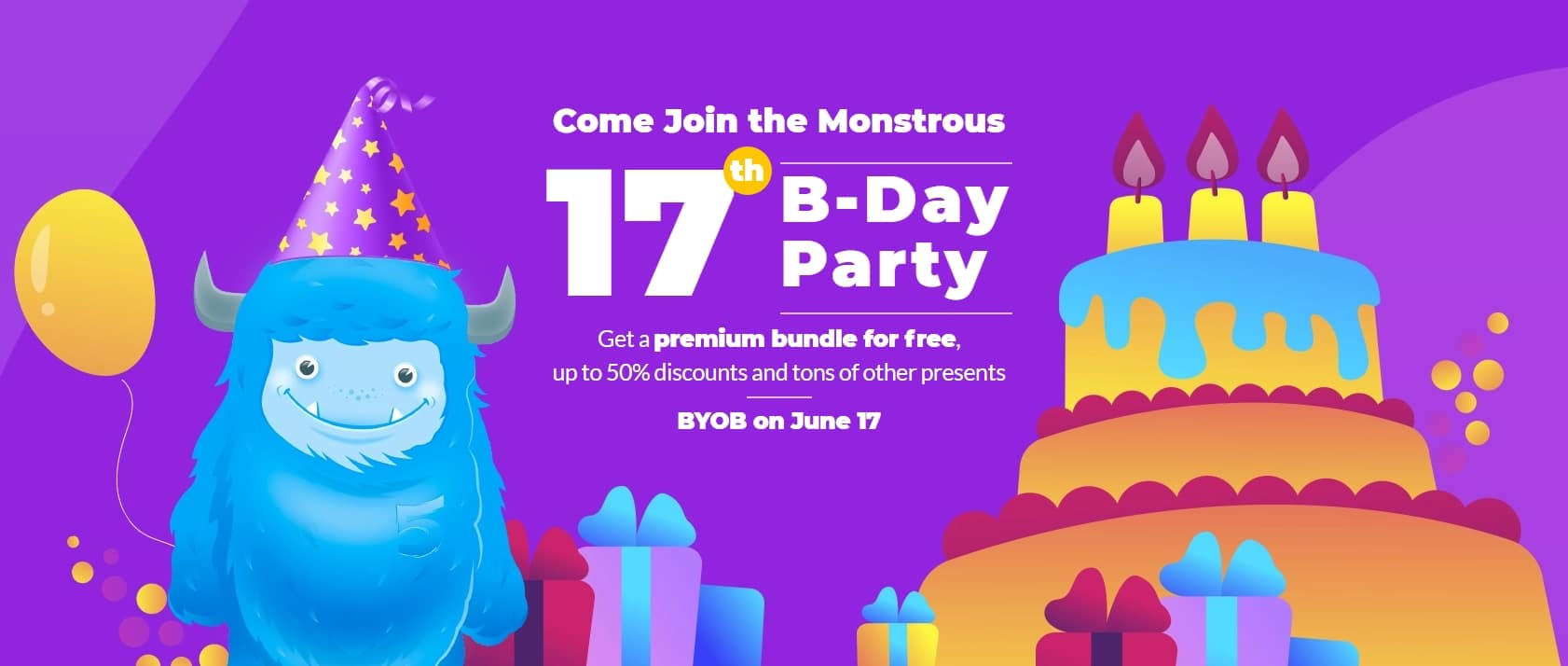 TemplateMonster Birthday