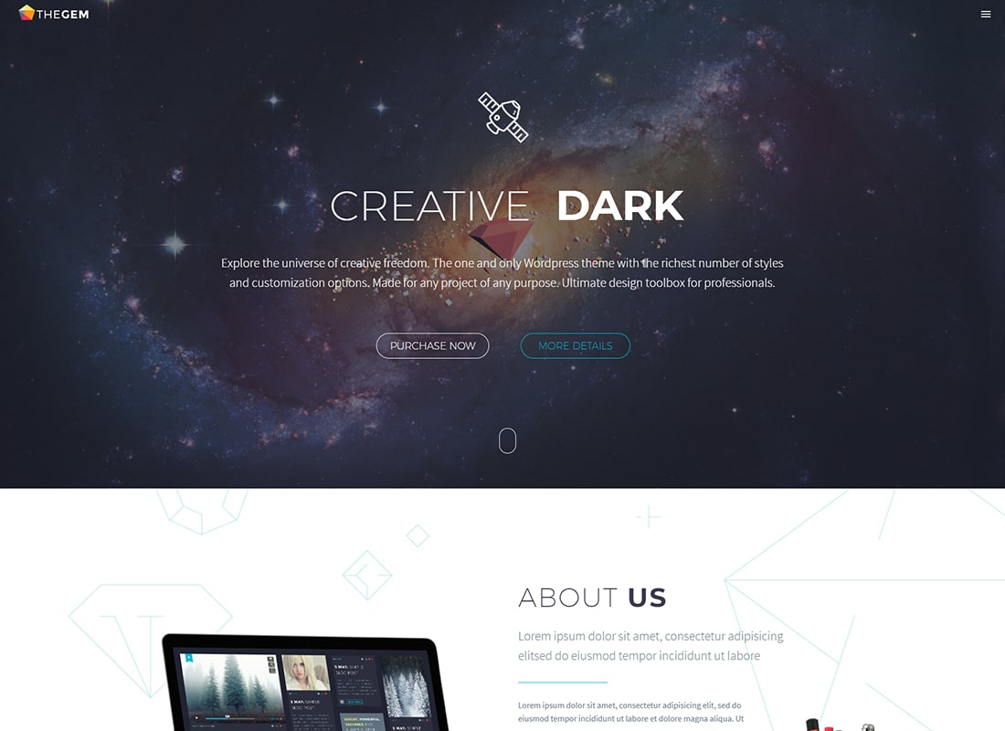 TheGem - Creative Multi-Purpose High-Performance WordPress Theme Website Template