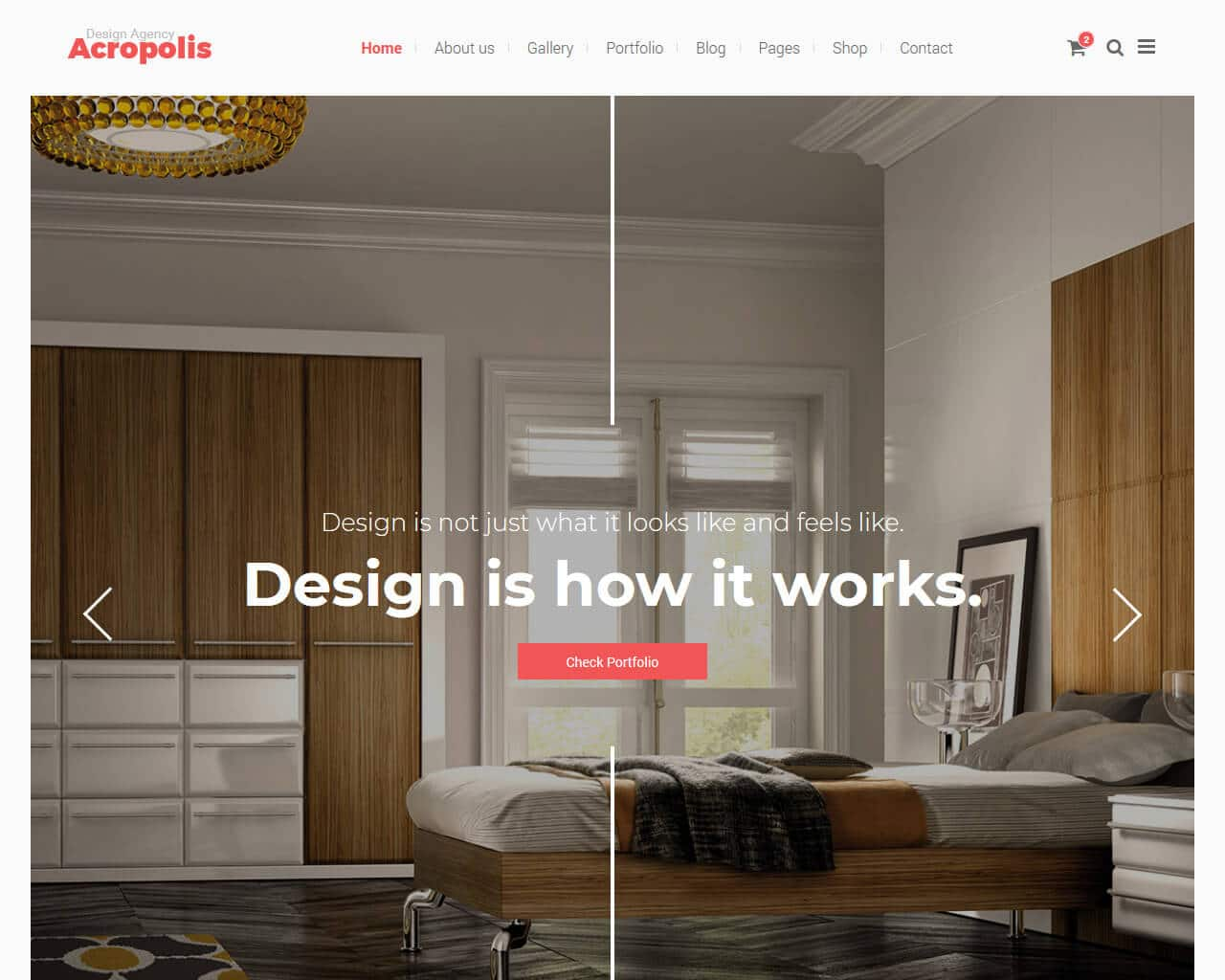 Acropolis Website Template