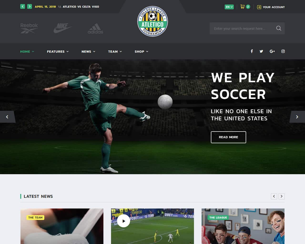 ALLSTAR Website Template