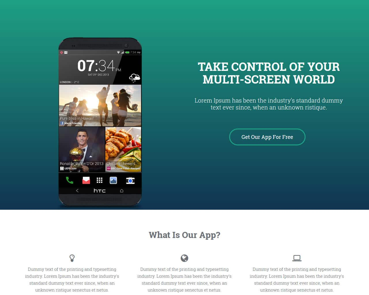 AppLanding Website Template
