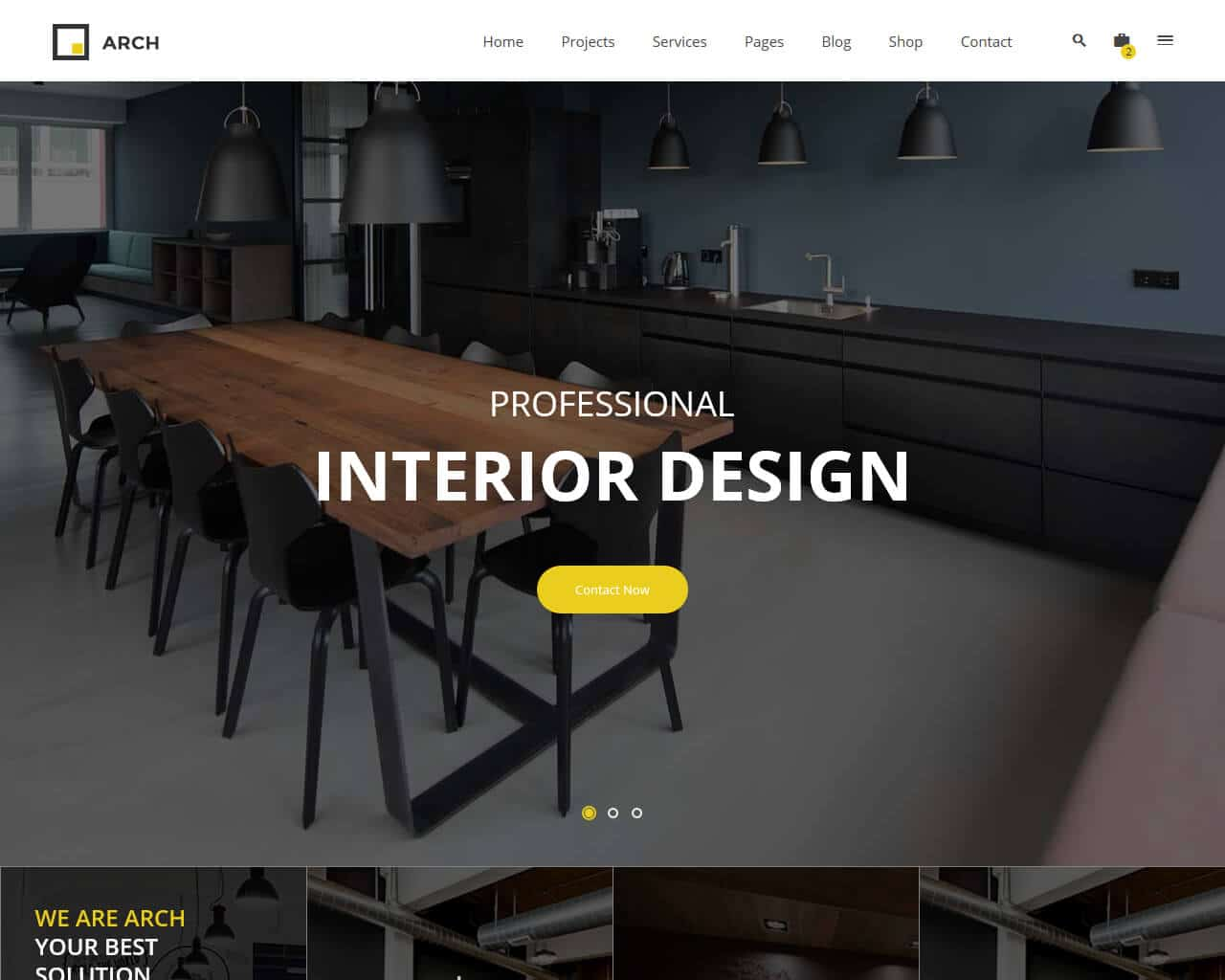 Arch Decor Website Template