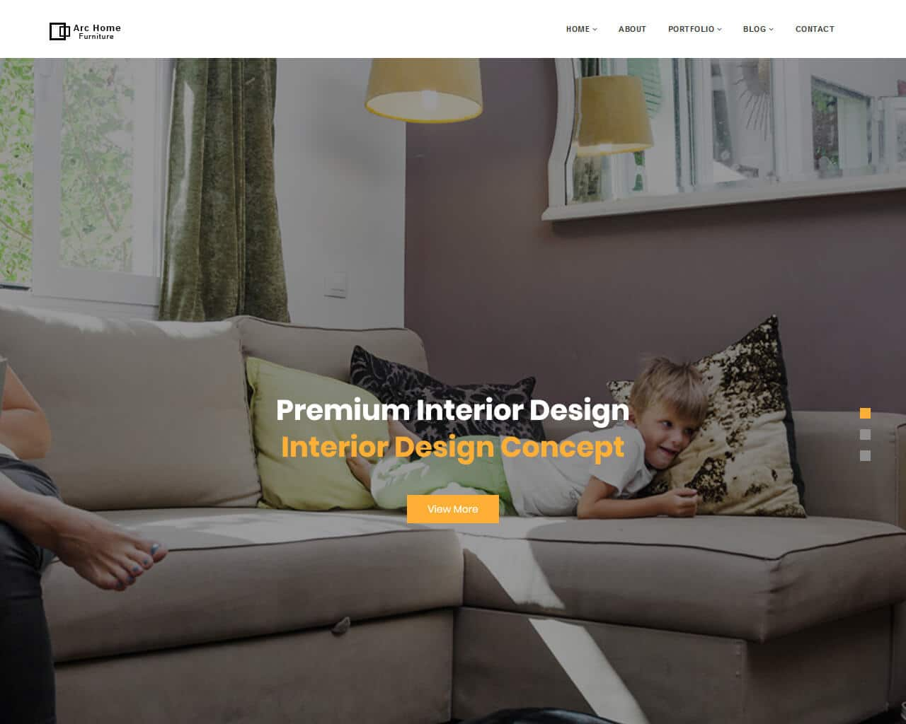 ArcHome Website Template
