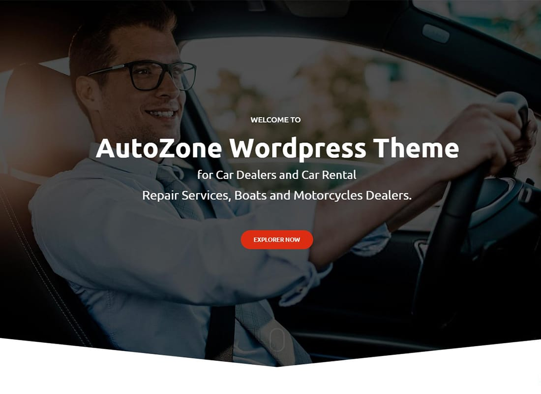 Autozone - Automotive Car Dealer Website Template