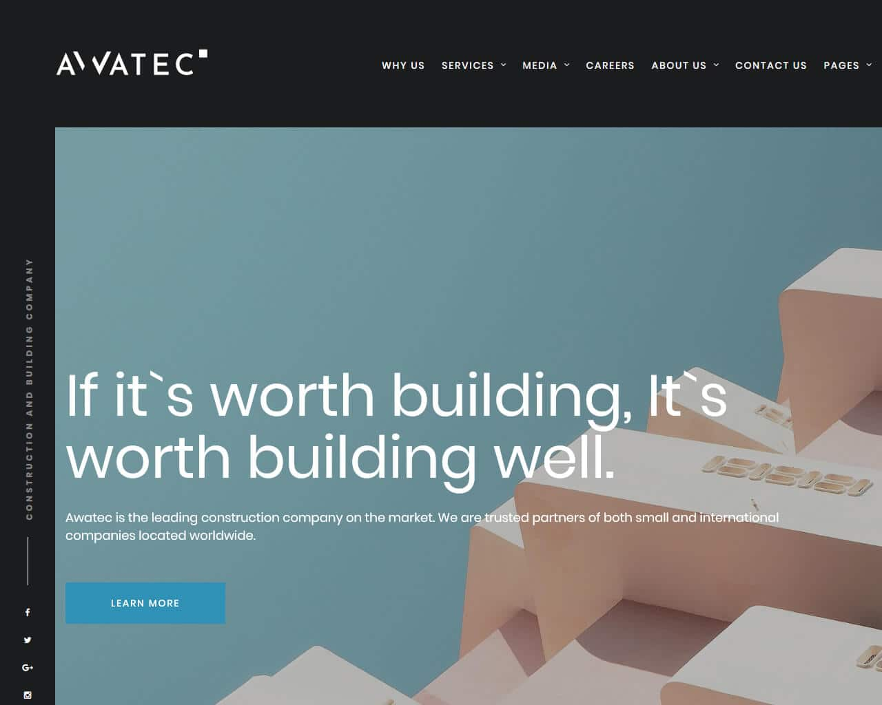 Awatec Website Template