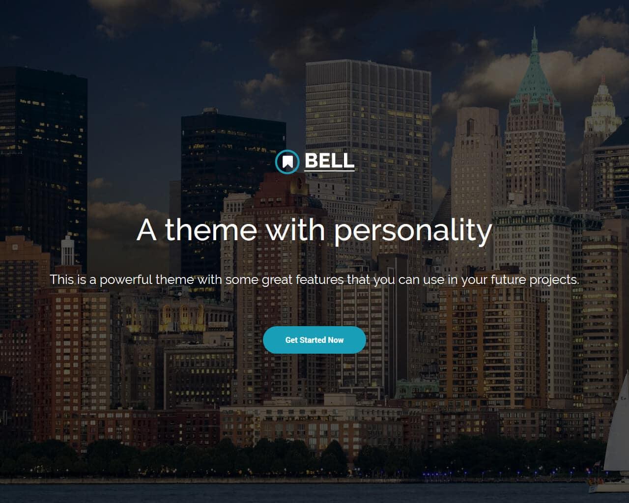 Bell Website Template
