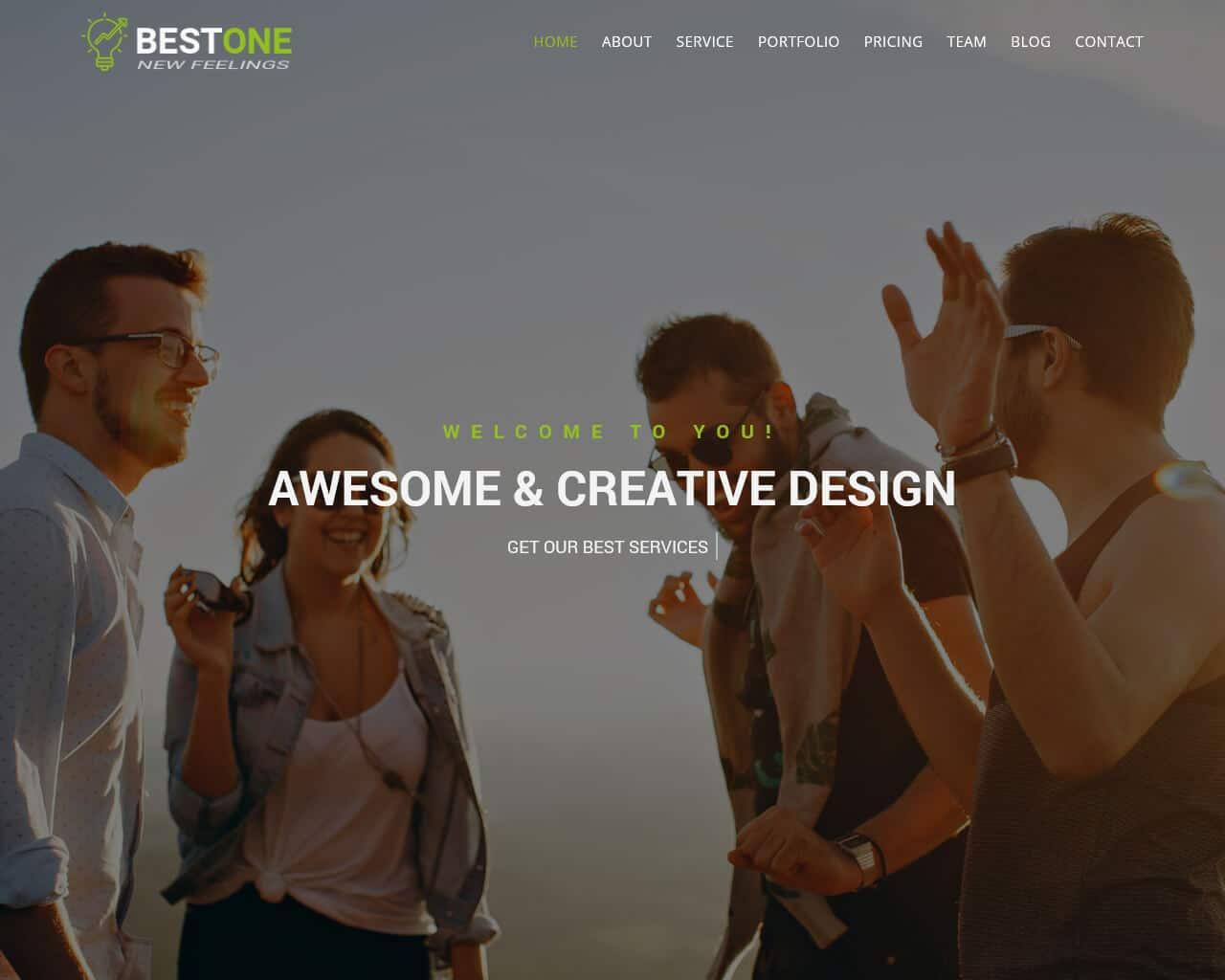 Bestone Website Template