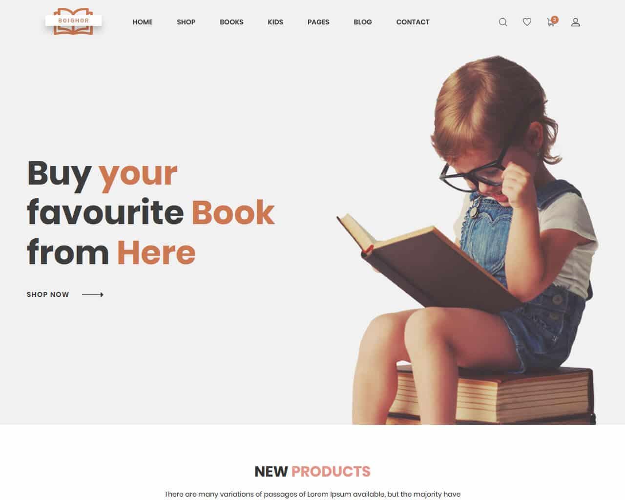 Boighor Website Template