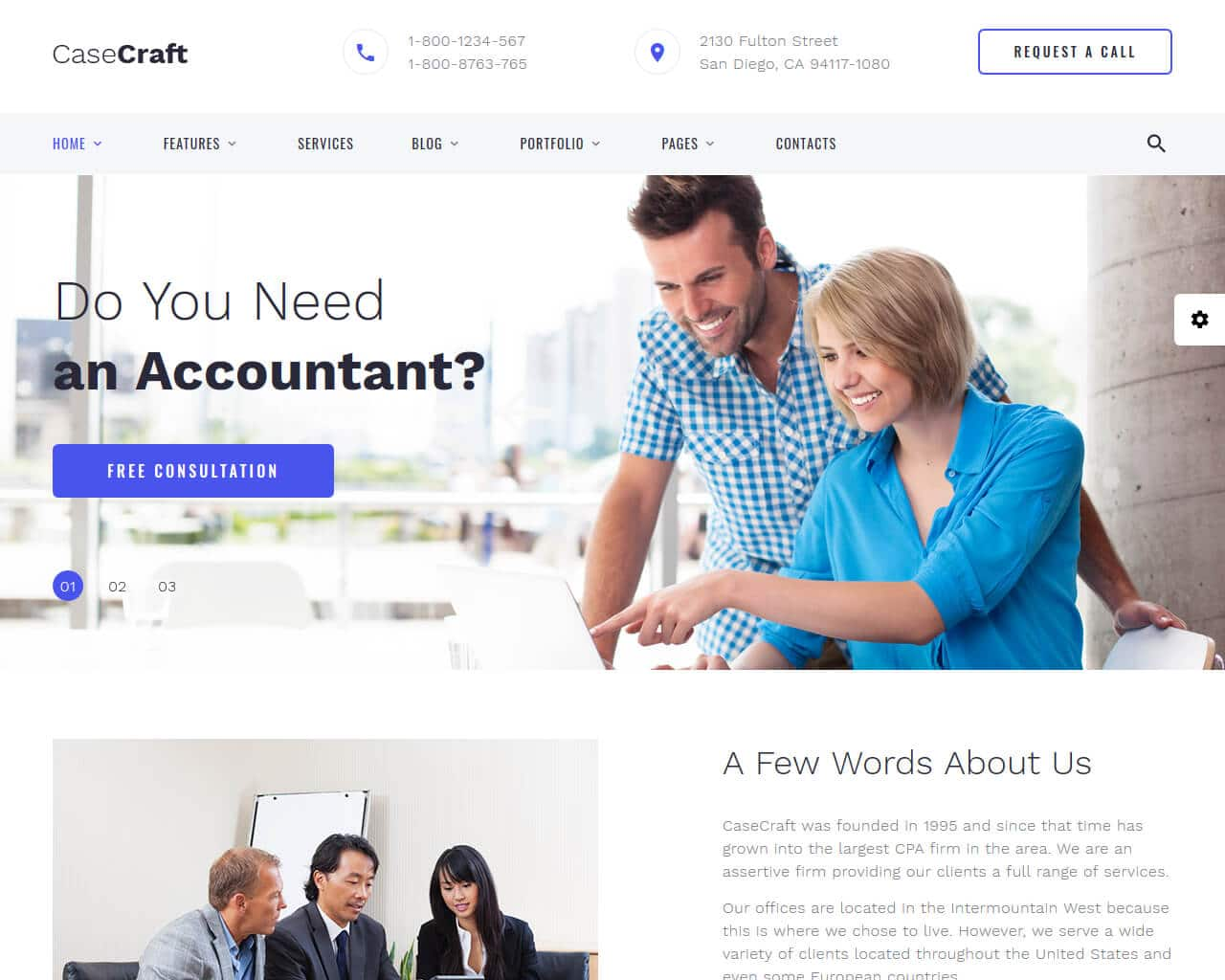 20+ Website Templates For Finance & Consulting Business 2019