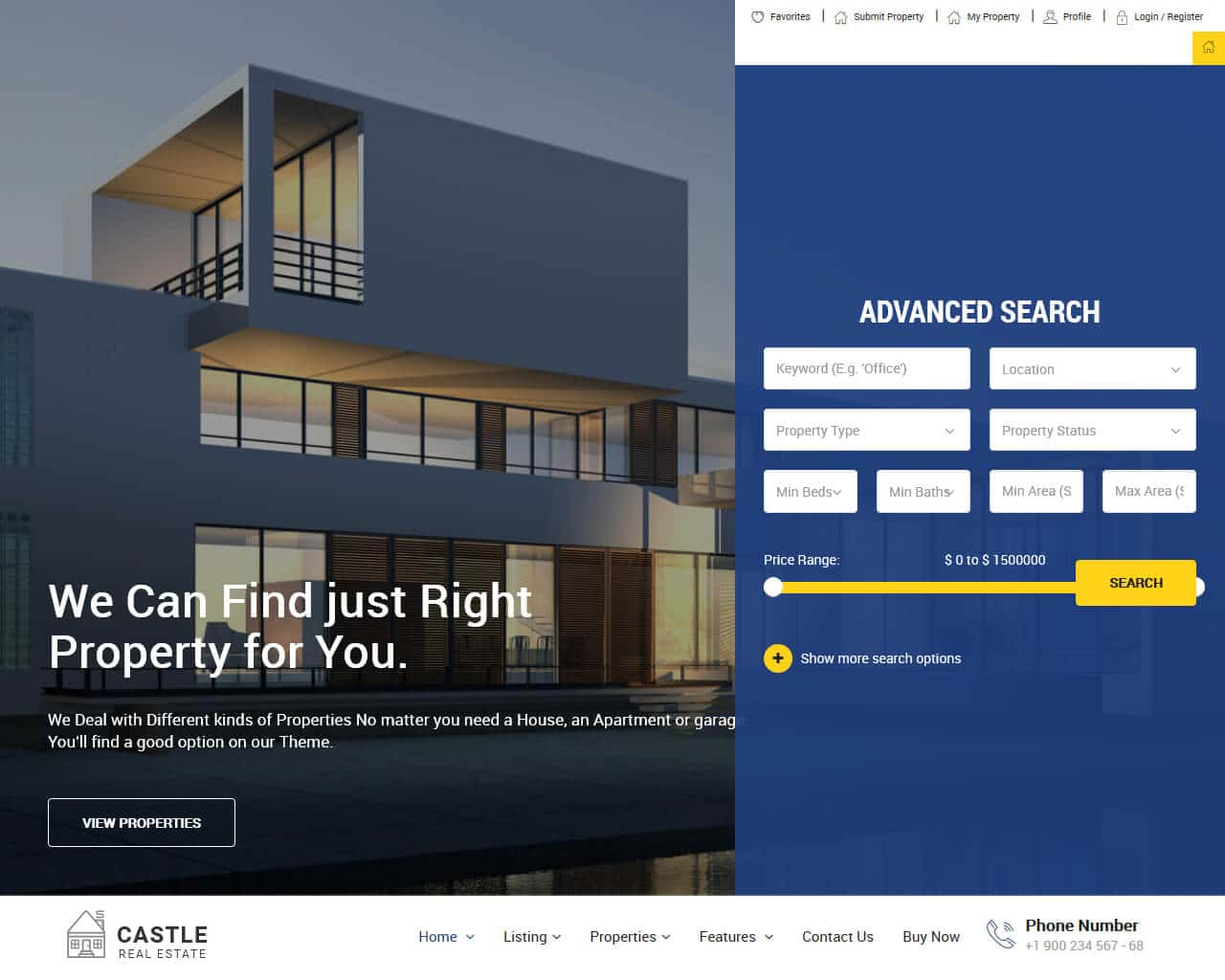Best Real Estate Website Templates To Sell Properties 2018 Templatemag