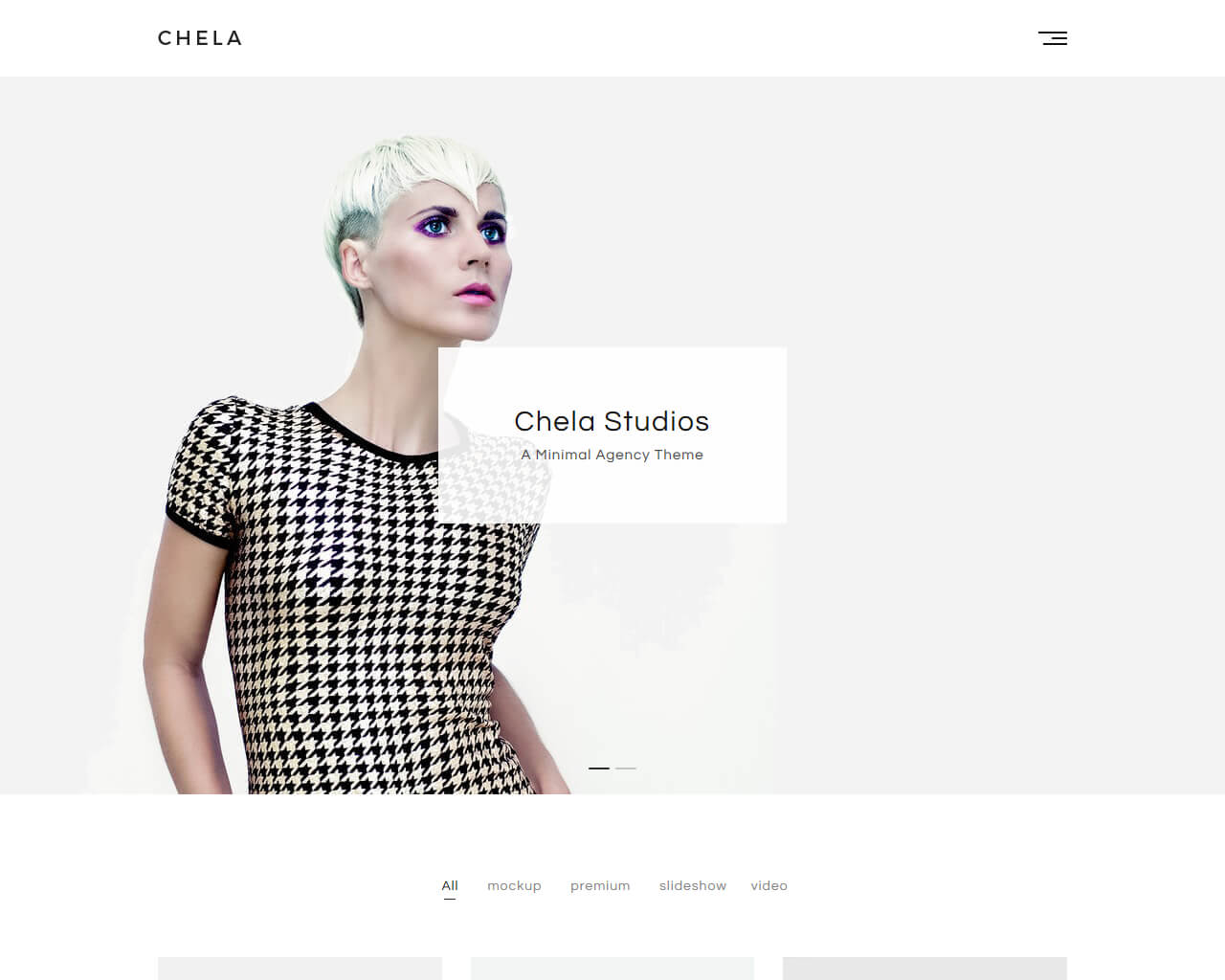 Chela Website Template