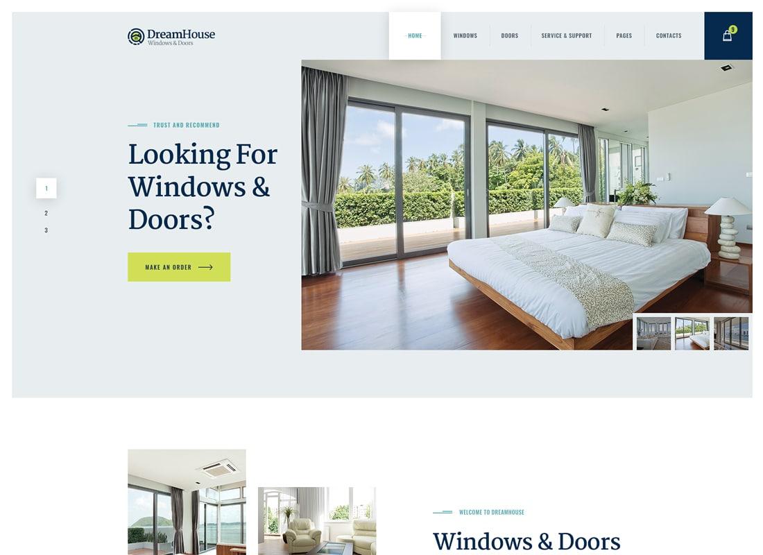 Chrimson | Windows & Doors Services WordPress Theme Website Template