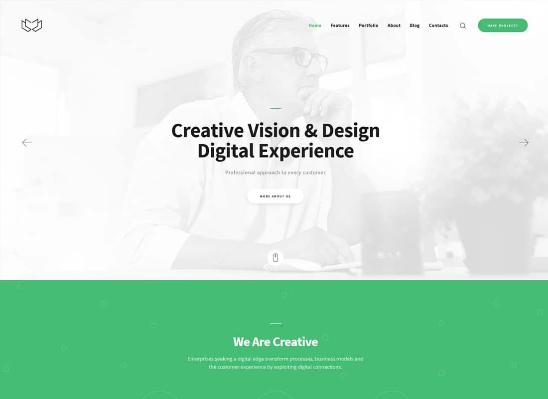 Deviox | A Trendy Multi-Purpose Business WordPress Theme Website Template
