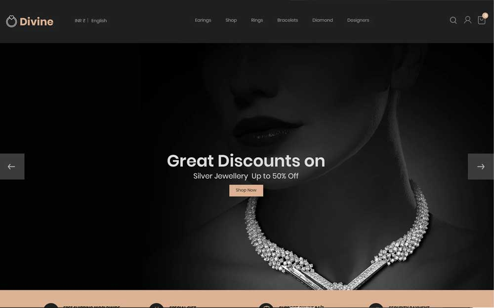 10 Jewelry PrestaShop Themes for Accessories Stores