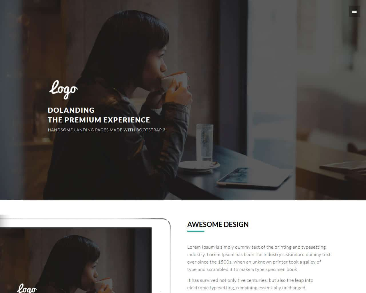 DoLanding  Website Template