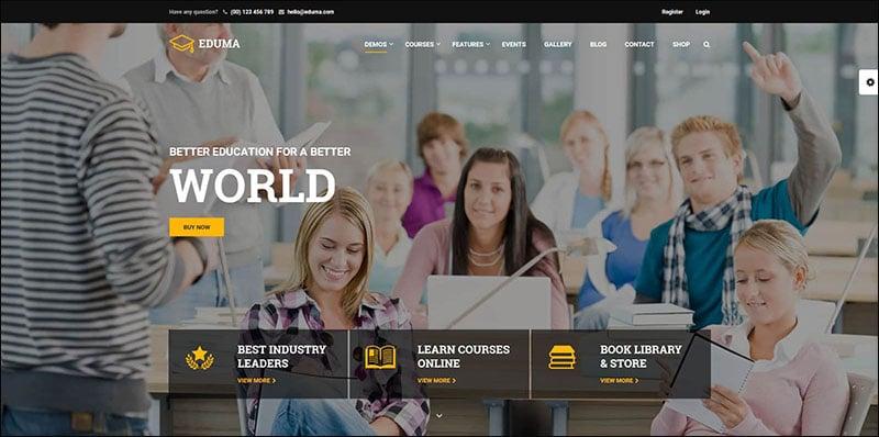 Education WordPress Theme - Education WP Website Template