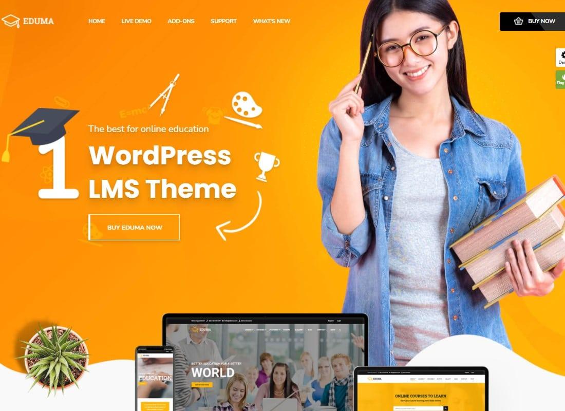 Education WordPress Theme   Education WP Website Template