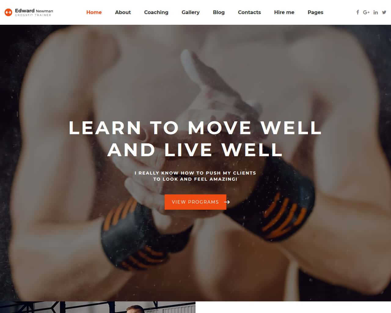 20+ Top Sports Website Templates 2019 - TemplateMag