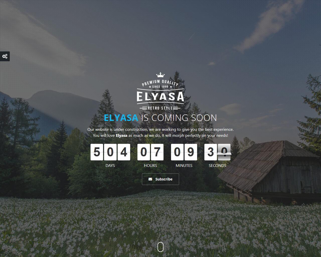 Elyasa Website Template