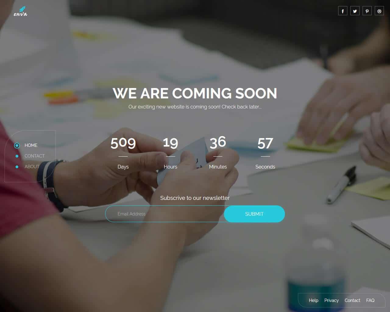 Enva Website Template