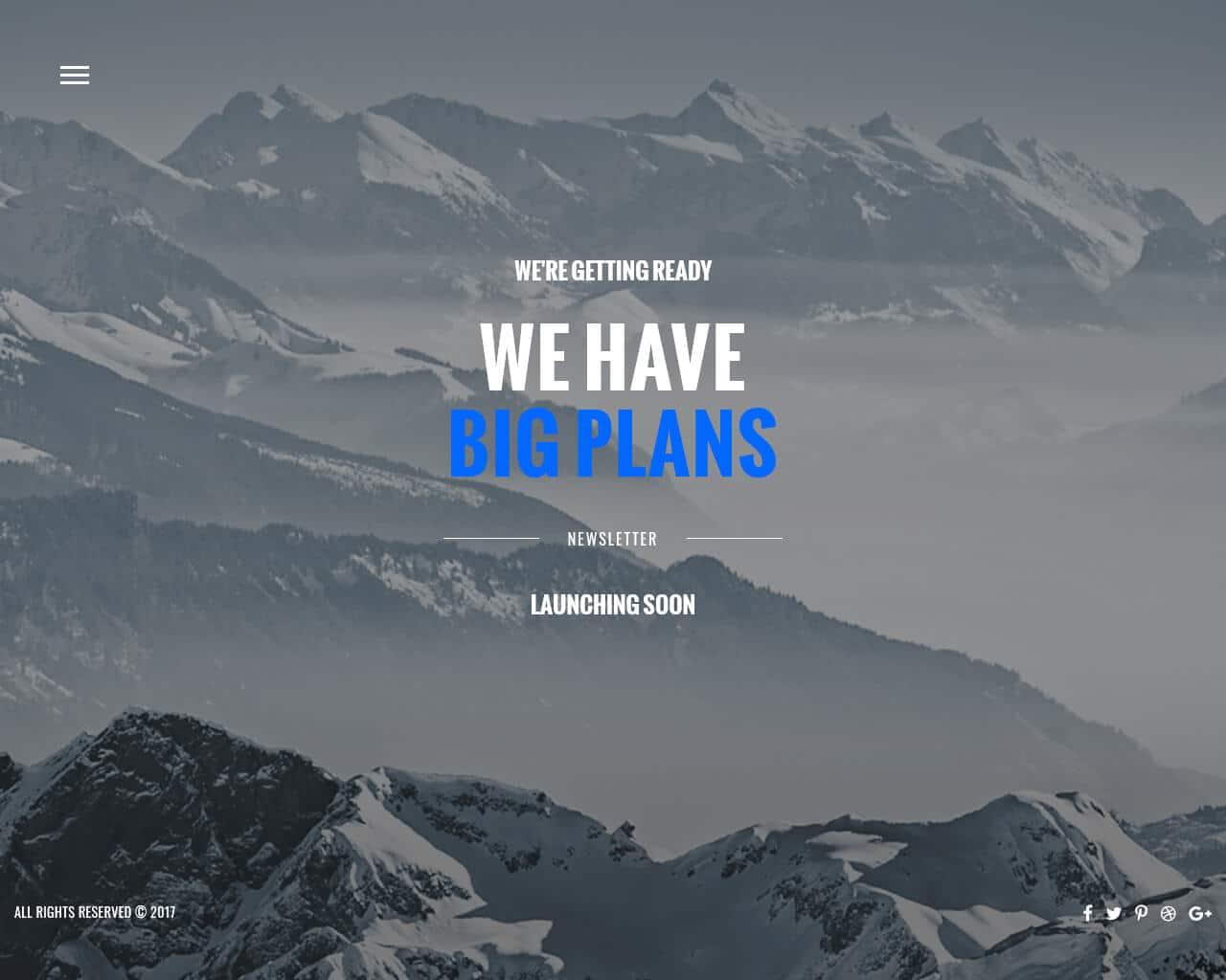 Everest Website Template