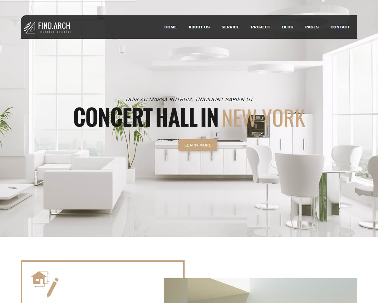 Find.ARC Website Template