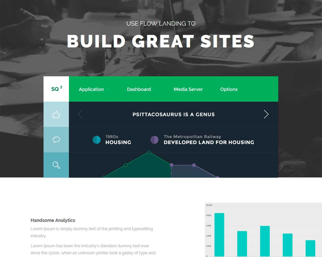 FlowLanding – Bootstrap Landing Page Template