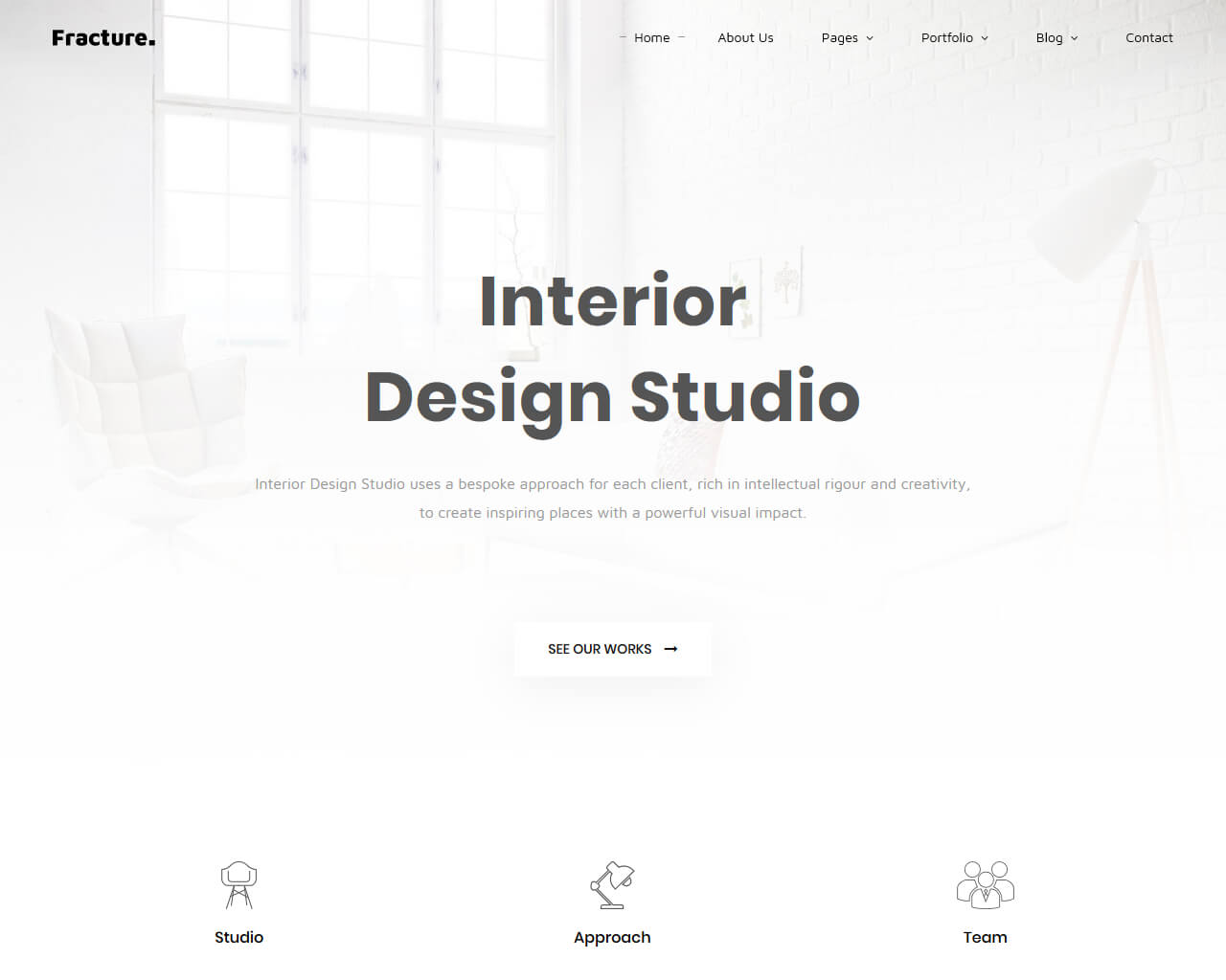 Fracture Website Template