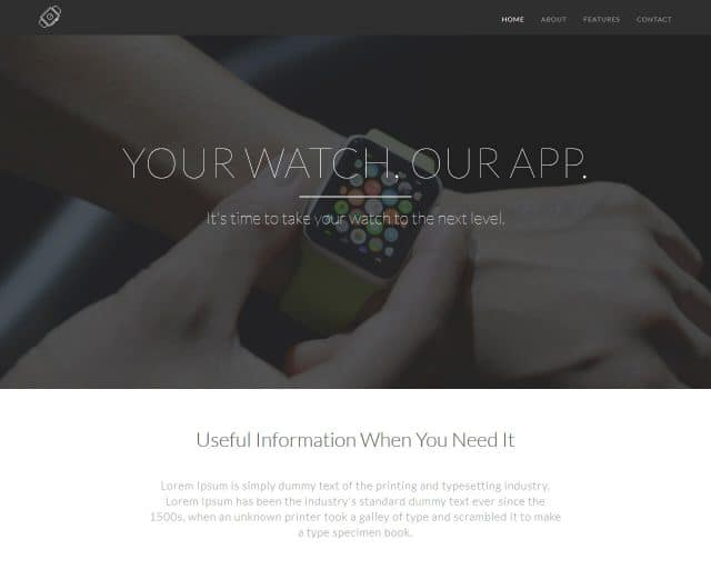 GadgetLanding – Bootstrap Landing Page Template