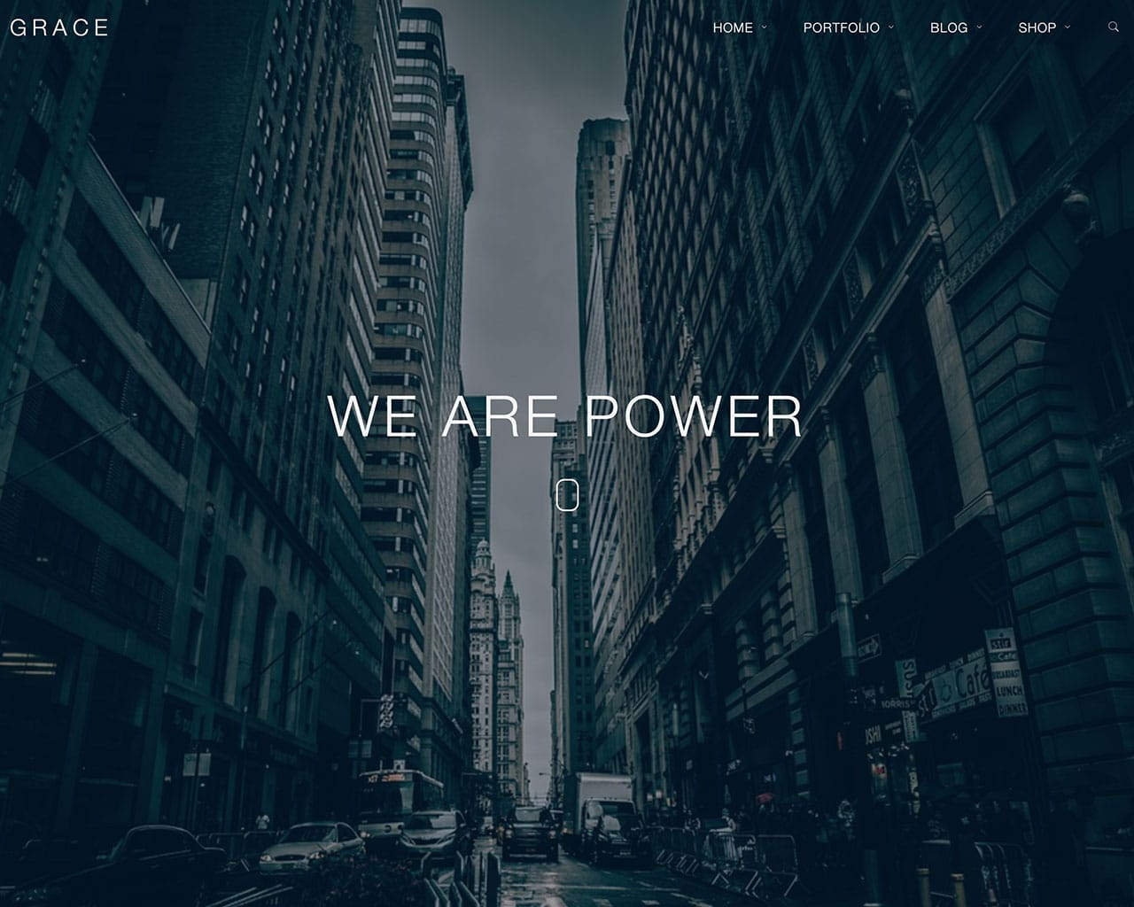 Grace – Creative Multipurpose Bootstrap Template